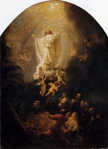 Вознесіння, Rembrandt, 1636