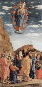 Вознесіння. Andrea Mantegna, 1461