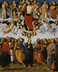 Вознесіння. Pietro Perugino 1496-1500
