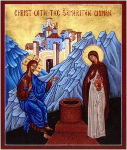 Розмава Христа з жінкою-Самарянкою