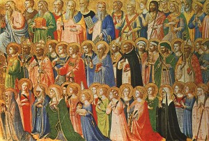 All Saints. Fra Angelico. 15th Century