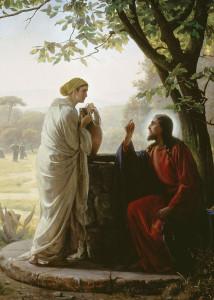 Розмова Христа з Самарянкою Карл Блох