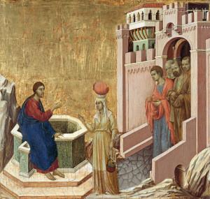 Розмова Христа з Самарянкою Дуччо ді Буонінсенья