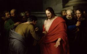 Запевнення апостола Хоми, Benjamin West