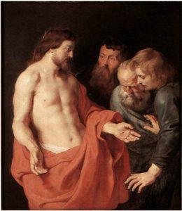 Запевнення апостола Хоми, Rubens
