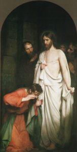 Запевнення апостола Хоми, Carl Heinrich Bloch