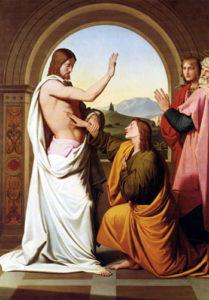 Запевнення апостола Хоми, Johann Friedrich Overbeck
