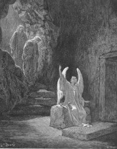 Easter 3-15 Жінки-мироносиці у порожнього гроба