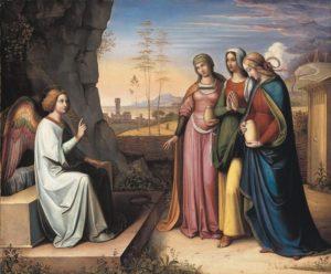 Easter 3-17 Жінки-мироносиці у гроба,Cornelius, 1822
