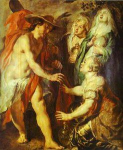 Явлення Христа мироносицям у вигляді садівника, Jacob Jordaens