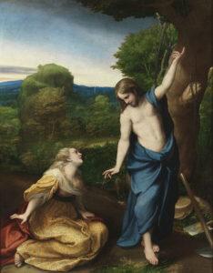 Не торкайся Мене, Antonio da Correggio, 1525