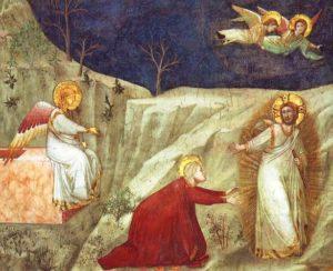 Не торкайся Мене, Giotto