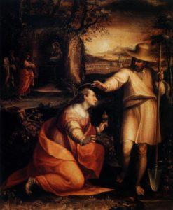 Не торкайся Мене, Lavinia Fontana, 1581