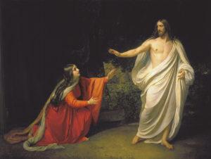 Явлення Христа Марії Магдалині А. Иванов, 1835