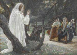 Явлення Христа жінкам-мироносицям, James Jacques Tissot