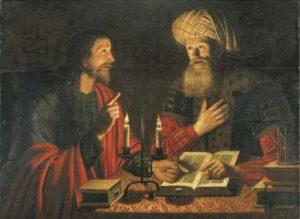 Христос і Никодим, Crijn Hendricksz, 1616–1645