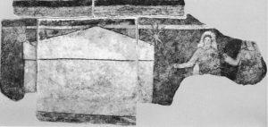 Easter 3-9 Жінки-мироносиці у гроба, фреска в домашній церкві Dura-Europos
