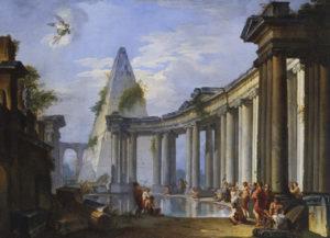 Зцілення розслабленого коло купелі Вифезда, Giovanni Paolo Panini