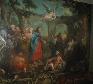 Зцілення розслабленого коло купелі Вифезда, William Hogarth