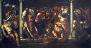 Зцілення розслабленого коло купелі Вифезда, Jacopo Robusti (Tintoretto)