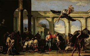 Зцілення розслабленого коло купелі Вифезда, Giovanni Domenico Tiepolo