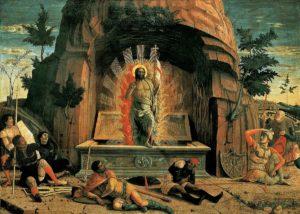 Воскресіння Христове, Andrea Mantegna, 1457-1459