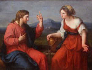 Розмова Христа з Самарянкою, Angelika Kauffmann