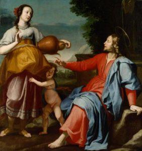 Розмова Христа з Самарянкою, Lorenzo Lippi