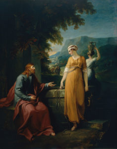 Розмова Христа з Самарянкою, William Hamilton