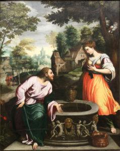 Розмова Христа з Самарянкою, Benvenuto Tisi da Garofalov