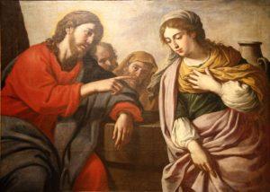 Розмова Христа з Самарянкою, Stefano Erardi