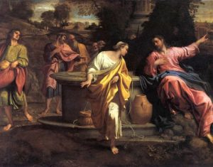 Розмова Христа з Самарянкою, Annibale Carracci