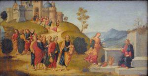 Розмова Христа з Самарянкою, Botticini Raffaello, 1508