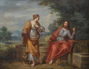 Розмова Христа з Самарянкою, Balthasar Beschey