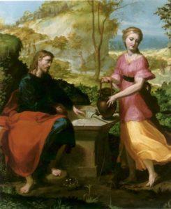 Розмова Христа з Самарянкою, Anselmi