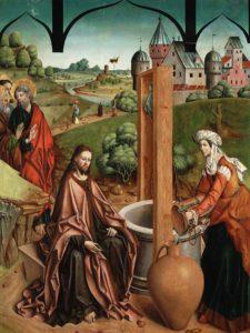 Розмова Христа з Самарянкою, Fernando Gallego