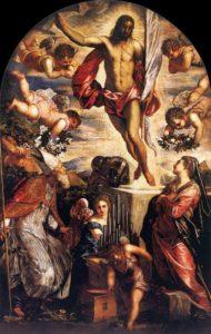 Воскресіння Христове, Tintoretto, 1565
