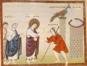 Зцілення сліпонародженого, Codex Egberti