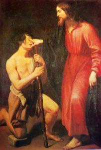 Зцілення сліпого, Giovanni Antonio Galli