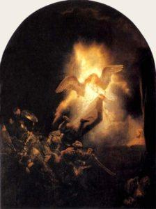 Воскресіння Христове, Rembrandt van Rijn, 1635