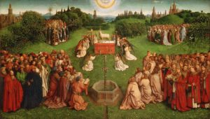 Adoration of the Lamb by Jan Van Eyck