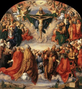 Альбрехт Дюрер, «Поклоніння Святій Трійці»
