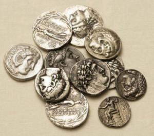 Срібні динарії