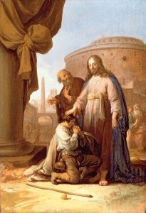 Христос і багатий юнак, 1640, BY BARTHOLOMEUS BREENBERGH