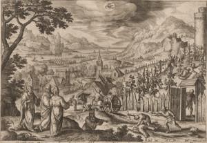 By Adriaen Collaert (1560-1618)
