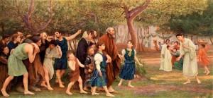 Pent 14-15 Притча про весільний бенкет, Eugene Burnand