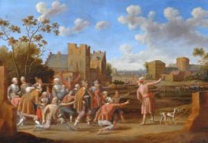 Pent 14-16 Притча про весільний бенкет, Cornelis Droochsloot