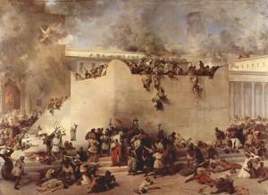 Зруйнування Єрусалимського Храму. Francesco Hayez. 1867