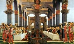 Весільний бенкет. Sandro Botticelli, 1483
