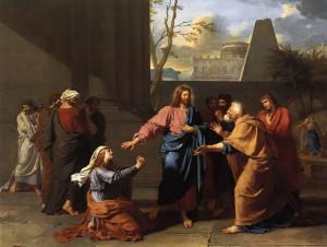 Христос і Хананеянка 1784 Germain Jean Drouais